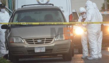 Encuentran el cadáver de un hombre embolsado y dentro de camioneta en Morelia
