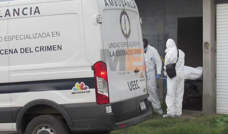 Encuentran el cadáver de un hombre en la colonia Vista Bella del Quinceo en Morelia, Michoacán