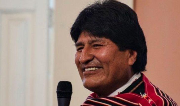 """Evo Morales dijo que el buque estadounidense en Colombia es una """"invasión encubierta"""""""