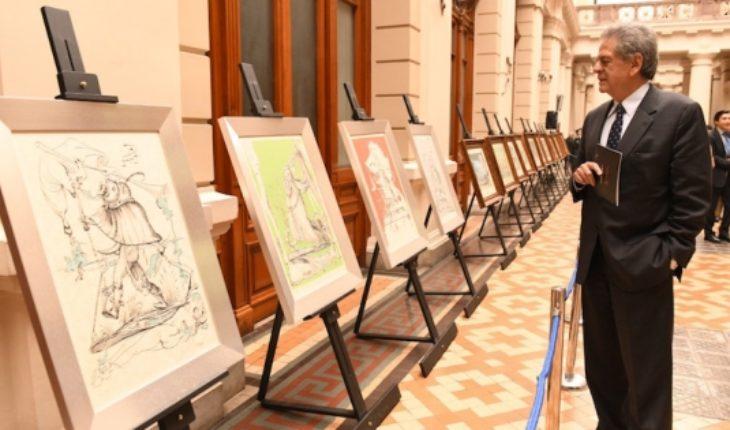 Exposición con obras inéditasobras de SalvadorDalí en Palacio de los Tribunales