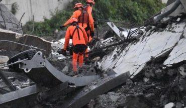 Fatal derrumbe en Génova: intentan rescatar sobrevivientes tras la caída de un puente
