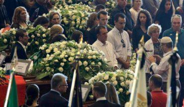 Génova despidió con funeral de Estado a víctimas del derrumbe de puente donde murieron tres chilenos