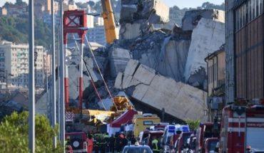 """Génova: investigan la causa del derrumbe y creen que fue """"un error humano"""""""