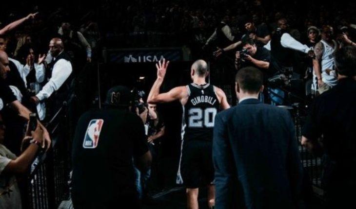 #GraciasManu: la despedida de San Antonio Spurs a Ginobili