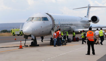 Increase in routes and influx of clients in the past 3 years in Morelia Airport: City Council