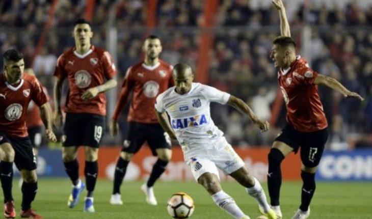 Independiente-Santos: horario, TV y formaciones del partido de vuelta de los octavos de final de la Copa Libertadores