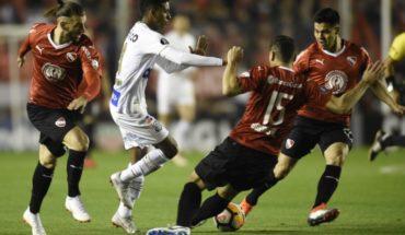 Independiente de Silva y Hernández empató 0-0 con Santos por octavos de la Libertadores