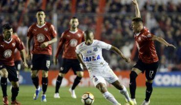 Independiente empató con Santos y deberá ir a buscar la clasificación a Brasil