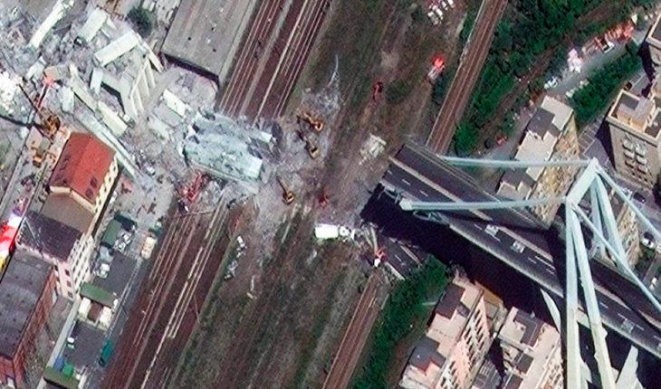 Inician reconstrucción de casas tras caída de puente en Génova donde murieron tres chilenos
