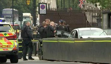 La Policía investiga como acto terrorista el atropello del Parlamento de Londres