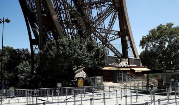 La Torre Eiffel estuvo cerrada por dos días