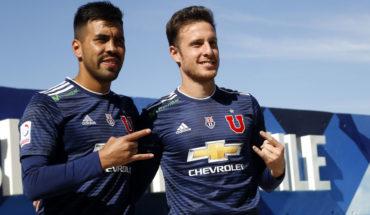 La U presentó oficialmente a Gonzalo Espinoza y Ángelo Henríquez