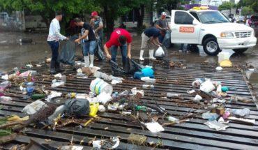 La basura motivo de inundaciones: Misael Sánchez