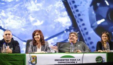 La foto en busca de la unidad: Cristina Kirchner y Hugo Moyano juntos