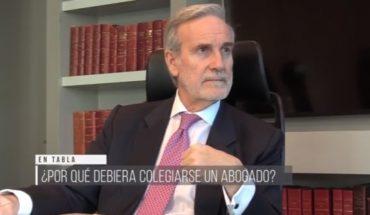 La preocupación de Arturo Alessandri por la baja colegiatura de los abogados