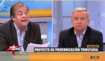 """Larraín pide aprobar la reforma tributaria pero Vidal le notifica que el proyecto es """"intragable"""""""