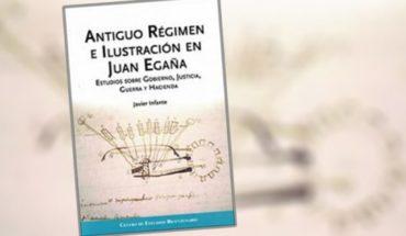 """Libro """"Antiguo régimen e ilustración en Juan Egaña"""" de Javier Infante"""