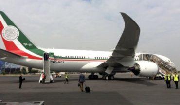 Licitarán Avión Presidencial a inicios de diciembre