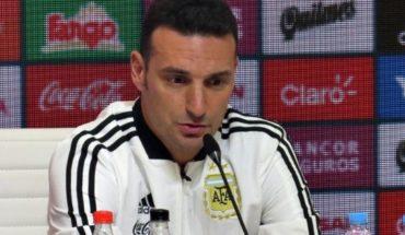 """Lionel Scaloni, DT de la Selección: """"Ningún jugador me dijo que no quería venir"""""""