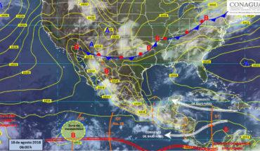 Lluvias con tormentas eléctricas para algunos estados del país