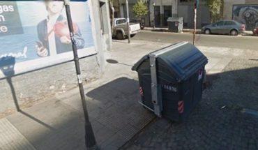 Macabro hallazgo de un feto en un contenedor de basura en Balvanera