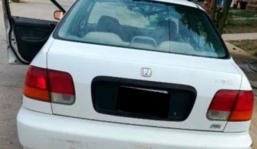 Manejaba vehículo robado a exceso de velocidad
