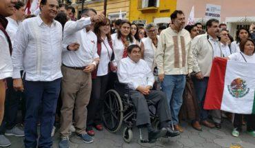 Marchan contra fraude en Puebla