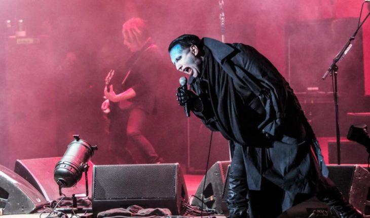 Marilyn Manson se desmayó en medio de su show