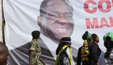 Mnangagwa juramentado como presidente de Zimbabue