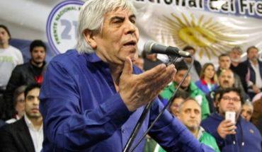 """Moyano: """"Se suman a la lucha contra las políticas del Gobierno o se quedan con los oligarcas"""""""