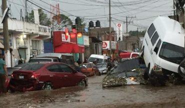Mueren dos personas por lluvias en Edomex