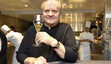 Murió reconocido chef francés, número uno en estrellas Michelín en el mundo