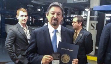 Napoleón Gómez Urrutia reaparece en México