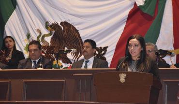 Necesario el equilibrio de poderes, manifiesta la diputada priista, Adriana Campos Huirache