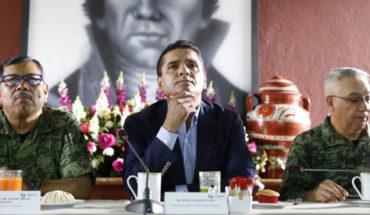 Ni la Tierra Caliente ni otra región de Michoacán será más el escondite de aquellos que buscan hacer daño: Aureloes Conejo