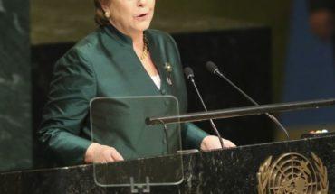 ONU aprueba a Bachelet como jefa de Derechos Humanos