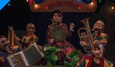 """Obra """"Kabinete de Madame Forest"""" de Compañía CirKoqoshka en Matucana 100"""