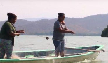 Obras inconclusas dejan a pescadores de Zapotalito sin sustento