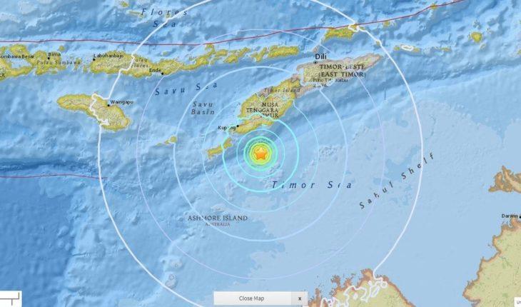 Otro sismo: Indonesia se estremece con terremoto de 6,2