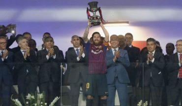 Otro título para Messi: Barcelona le ganó 2 a 1 a Sevilla y es campeón de la Supercopa de España