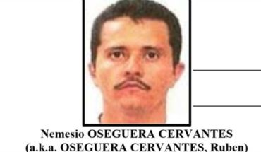 PGR ofrece 30 mdp por el Mencho, líder del Cártel Jalisco