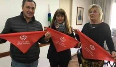 Pañuelos rojos: buscan promover mejoras en la ley de adopción