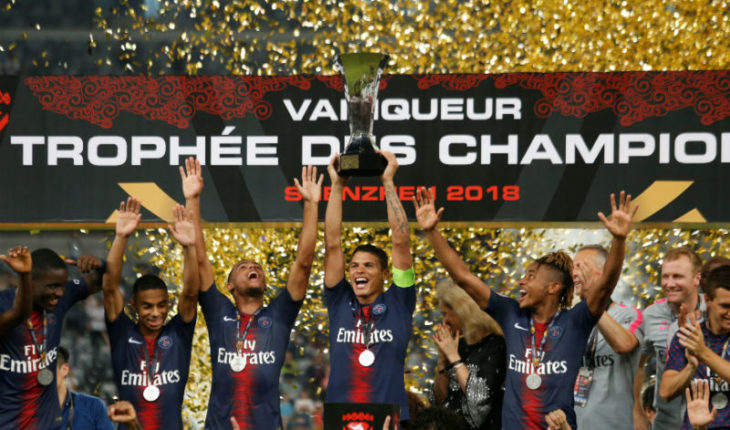 Paris Saint-Germain gana la super-copa de Francia