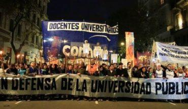 Paro universitario: marcha federal y movilización