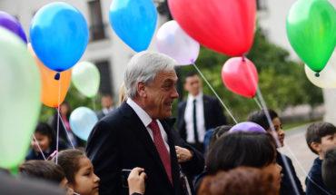 Piñera firmó compromiso para mejorar calidad de vida de niños del Sename