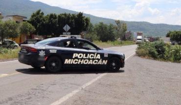 Policía Michoacán y Ejército van por 12 objetivos delincuenciales tras narco bloqueos