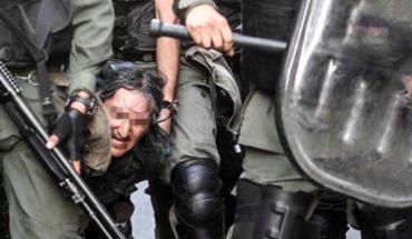 Policías propinan brutal golpiza a supuesto vagonero