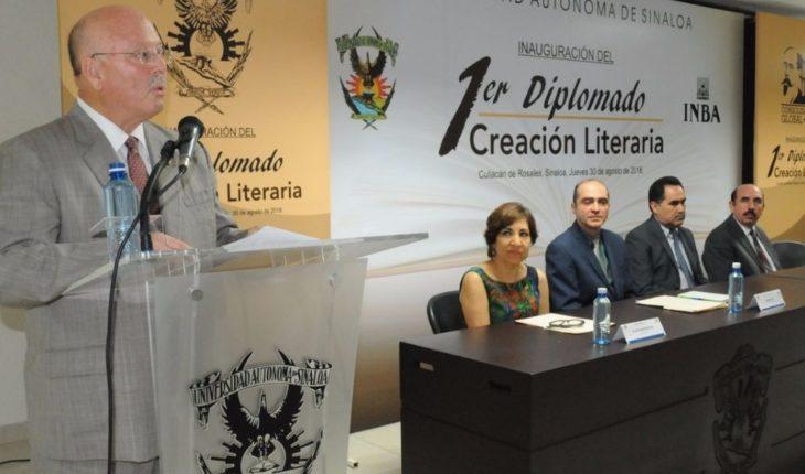 Pone en marcha la UAS la primera edición del Diplomado en Creación Literaria