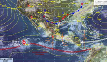 Prevén tormentas puntuales intensas en Veracruz, Tabasco, Guerrero, Oaxaca y Chiapas