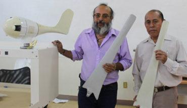 Profesores y alumnos de la UTVCO diseñan palas de aerogeneradores con bagazo de maguey